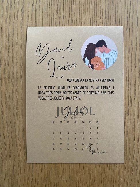 Muchas dudas y un save the date 🙃 - 1