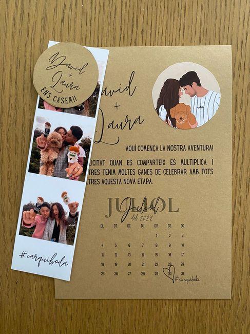 Muchas dudas y un save the date 🙃 2