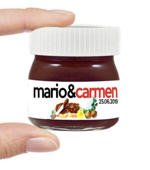 Medidas etiquetas mini tarros de Nutella 1