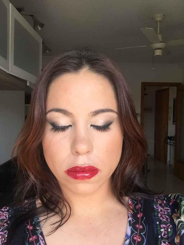 Mi prueba de maquillaje!!! - 3