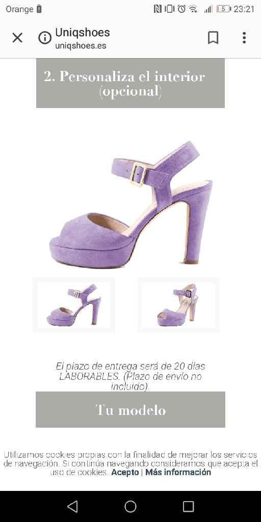 Zapatos de novia. - 1
