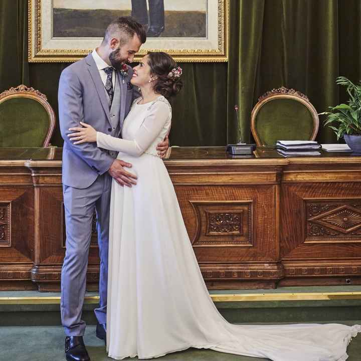 Por fin casados ❤ - 1