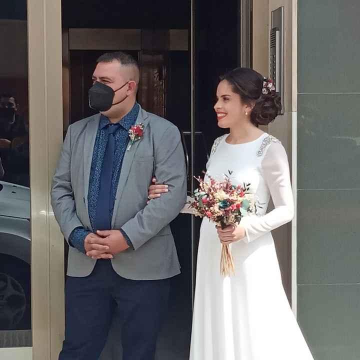 Por fin casados ❤ - 4