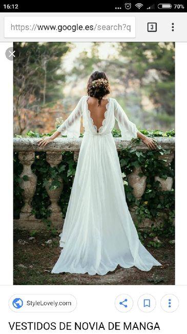 El dilema de Sherezade: ¿vestido de novia manga larga o de manga corta? 5
