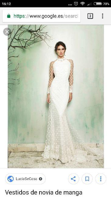 El dilema de Sherezade: ¿vestido de novia manga larga o de manga corta? 6