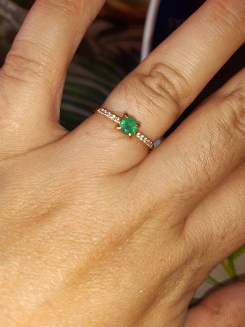 Pongamos todas nuestro anillo de compromiso 15