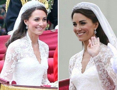 peinados de las novias famosas
