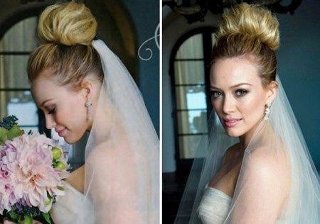 Peinados novias famosas