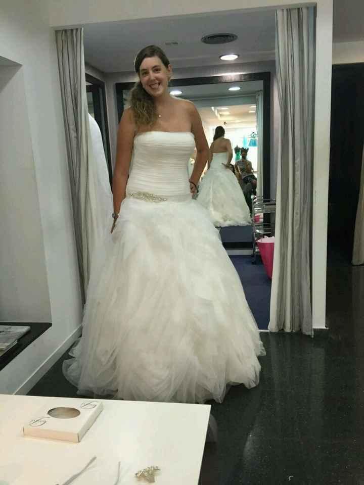 Duda con el vestido - 1