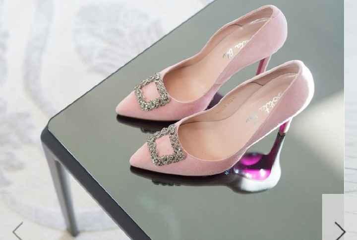 Zapato de color o blanco - 1