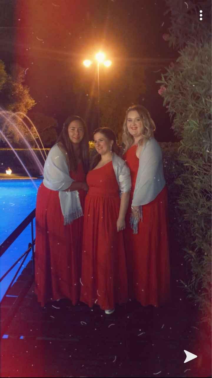 Vestidos damas de honor 💙 - 1