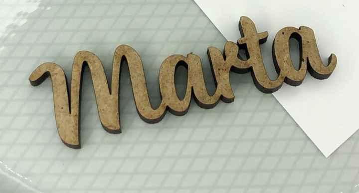 Marcasitios nombre de madera - 1