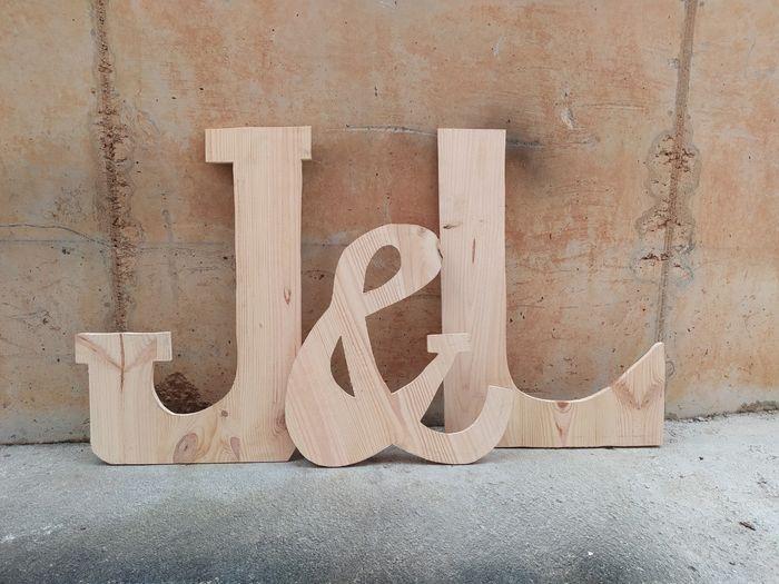 Letras gigantes 3