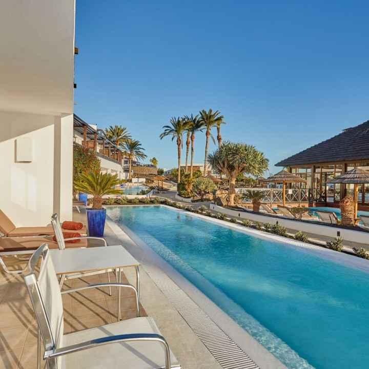 Hotel Canarías (habitación con piscina) - 1
