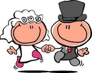 Imagenes de matrimonio para tarjetas en dibujos - Imagui