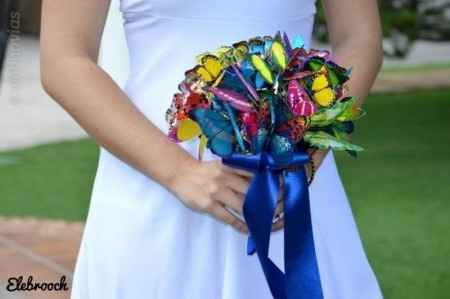 Idea de ramo de novia