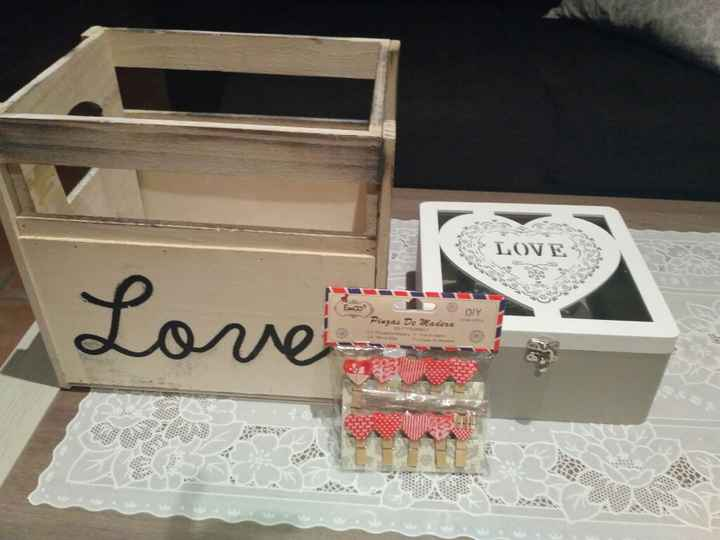 Caja para pai pai y cajita para los corazones - 1