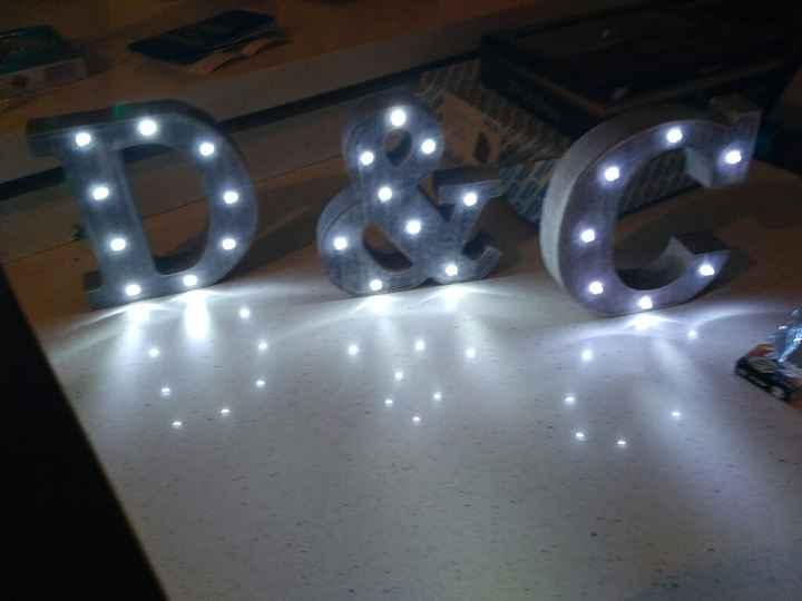 Mis letras con luz - 1
