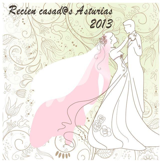 Recien casados Asturias 2013