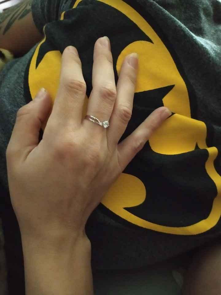Pongamos foto de nuestros anillos de compromiso - 1