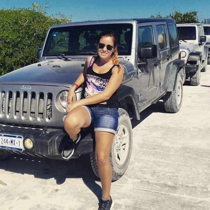 Jeep de Sian Ka`an