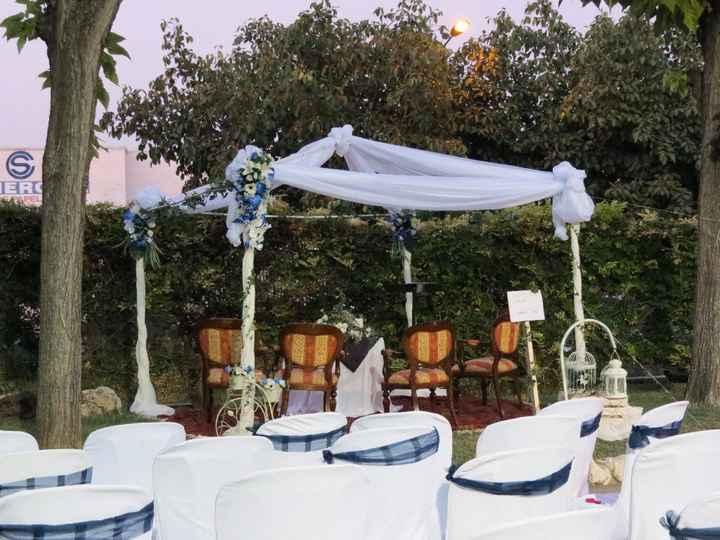 Decoración ceremonia civil con los invitados