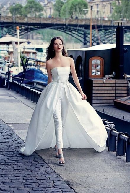 vestidos de novias desmontables - moda nupcial - foro bodas