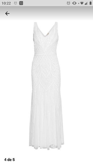 Vestido novia años 20 - 1