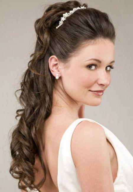 Peinado Semirecogido Con Ondas Y Tiara Vizcaya Foro Bodas Net