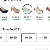Para la que busque zapatos azules - 2