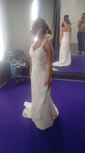 vestido clara novias