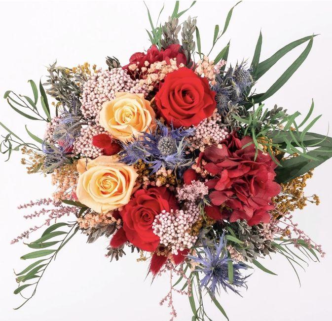 ¿Cuánto te gusta este bouquet? - 1