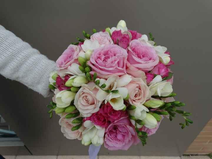 Que dilema!!!ramo de novia con flores de papel?? - 1