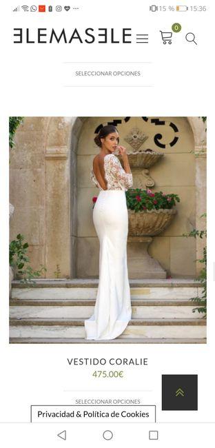 Vestidos de novias baratos y bonitos 1