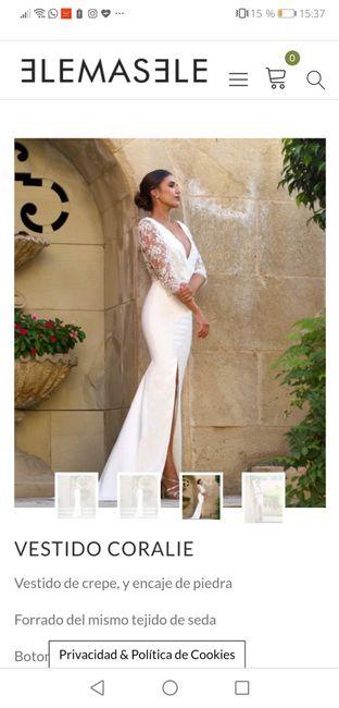 Vestidos de novias baratos y bonitos 2