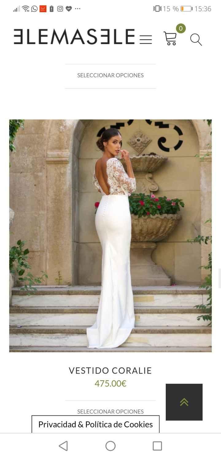 Vestidos de novias baratos y bonitos - 1