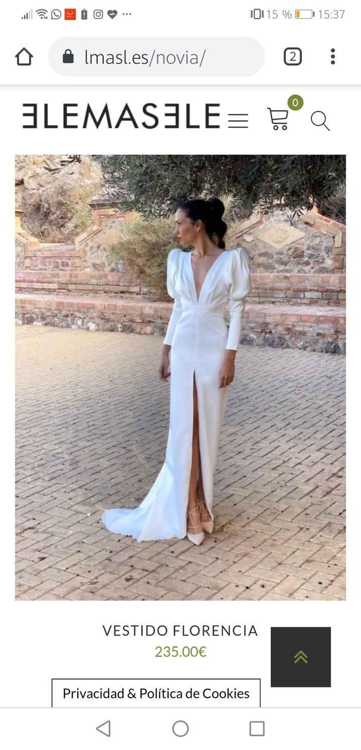 Vestidos de novias baratos y bonitos - 3