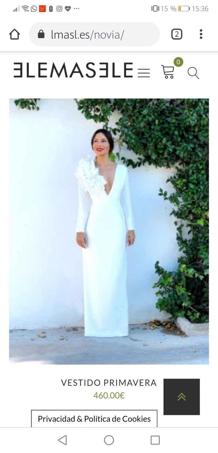 Vestidos de novias baratos y bonitos - 5