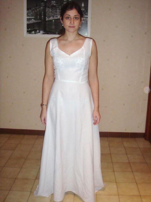 vestido cortado