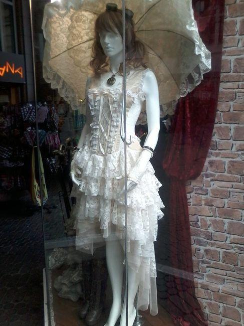 vestido de novia gotico - moda nupcial - foro bodas