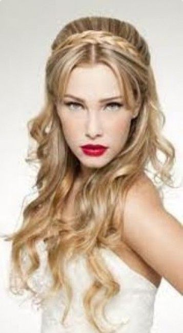 Peinados semirecogidos o pelo suelto belleza foro for Imagenes semirecogidos