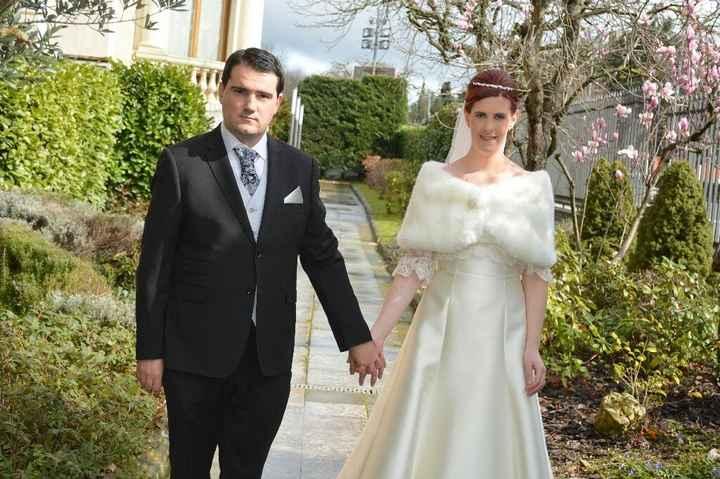 Abrigos para novias de invierno - 1