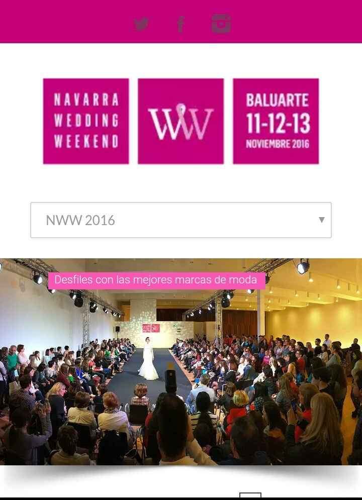 Invitaciones para navarra wedding weekend - 1