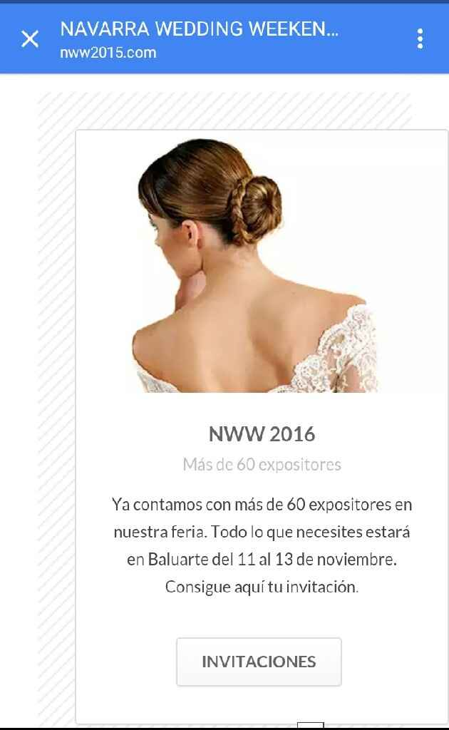 Invitaciones para navarra wedding weekend - 2