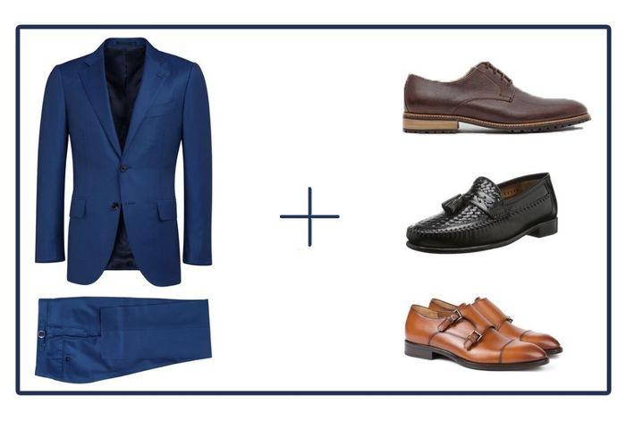 traje azul novio - moda nupcial - foro bodas
