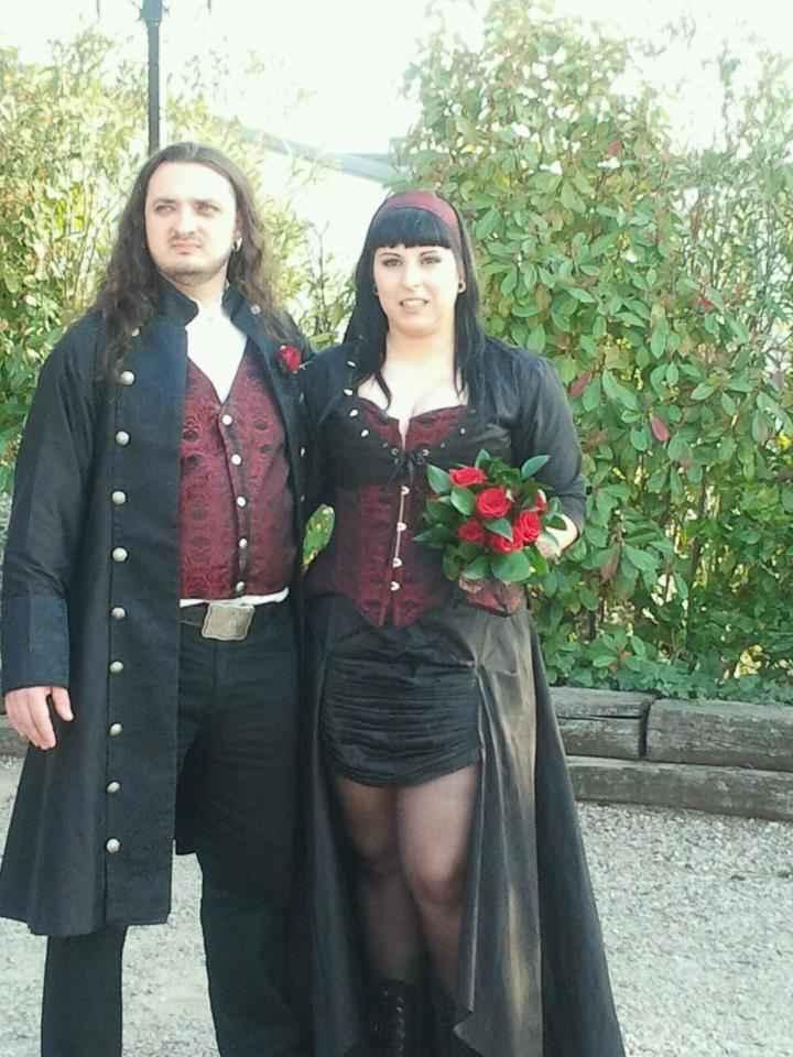 Vestido y traje de nuestra boda!
