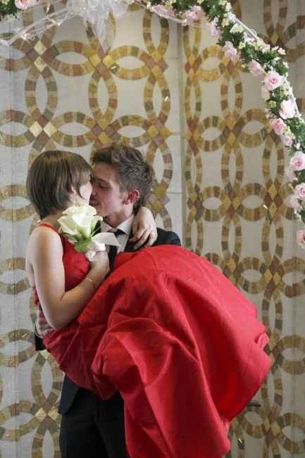Mi marido y yo en nuestra boda Californiana