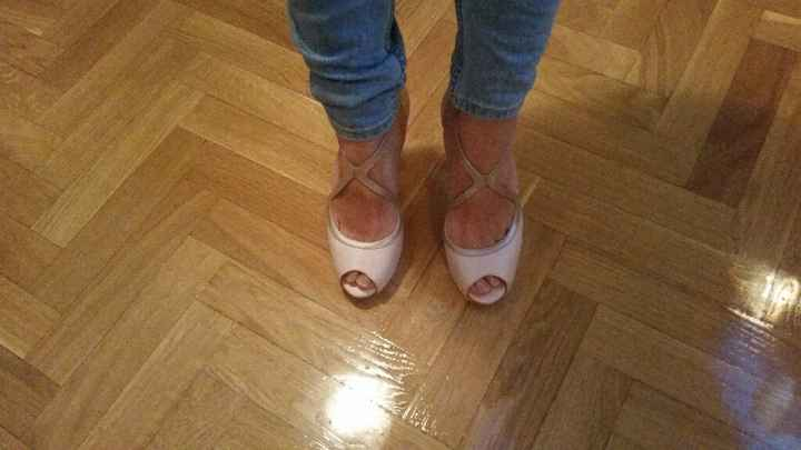 Estos son mis zapatos!!!! enamorada y muy comoda - 2