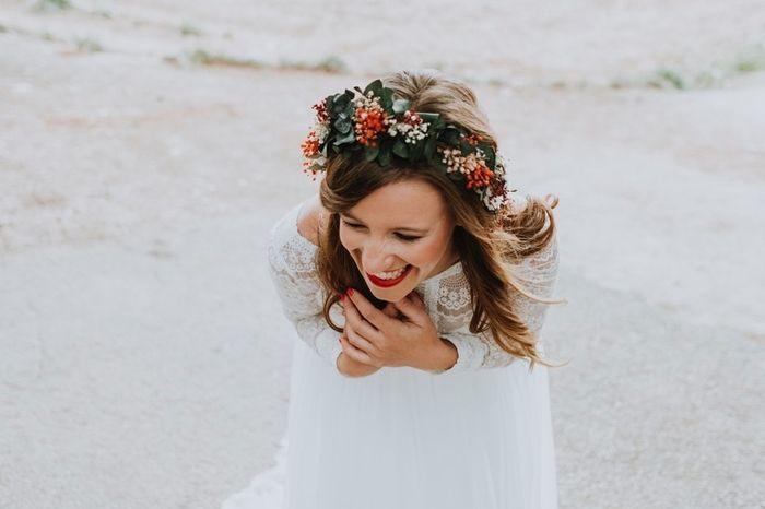 Esta corona de flores: ¿Te mola o ni loca? 1