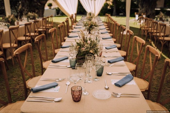 ¿Celebraréis la ceremonia y el banquete en el mismo lugar? 1